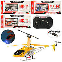 Вертолет 33014K (9шт) р/у2,4G,аккум,35см,свет,гироскоп,3,5канала,USBзарядн,4цв,в кор,56,5-22,5-3см