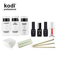 Стартовый набор для маникюра гель лаком Kodi SMART без лампы