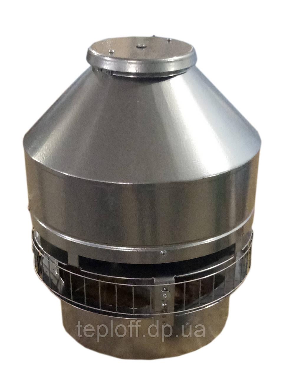 Дымосос крышный 1600м3/ч для камина, барбекю