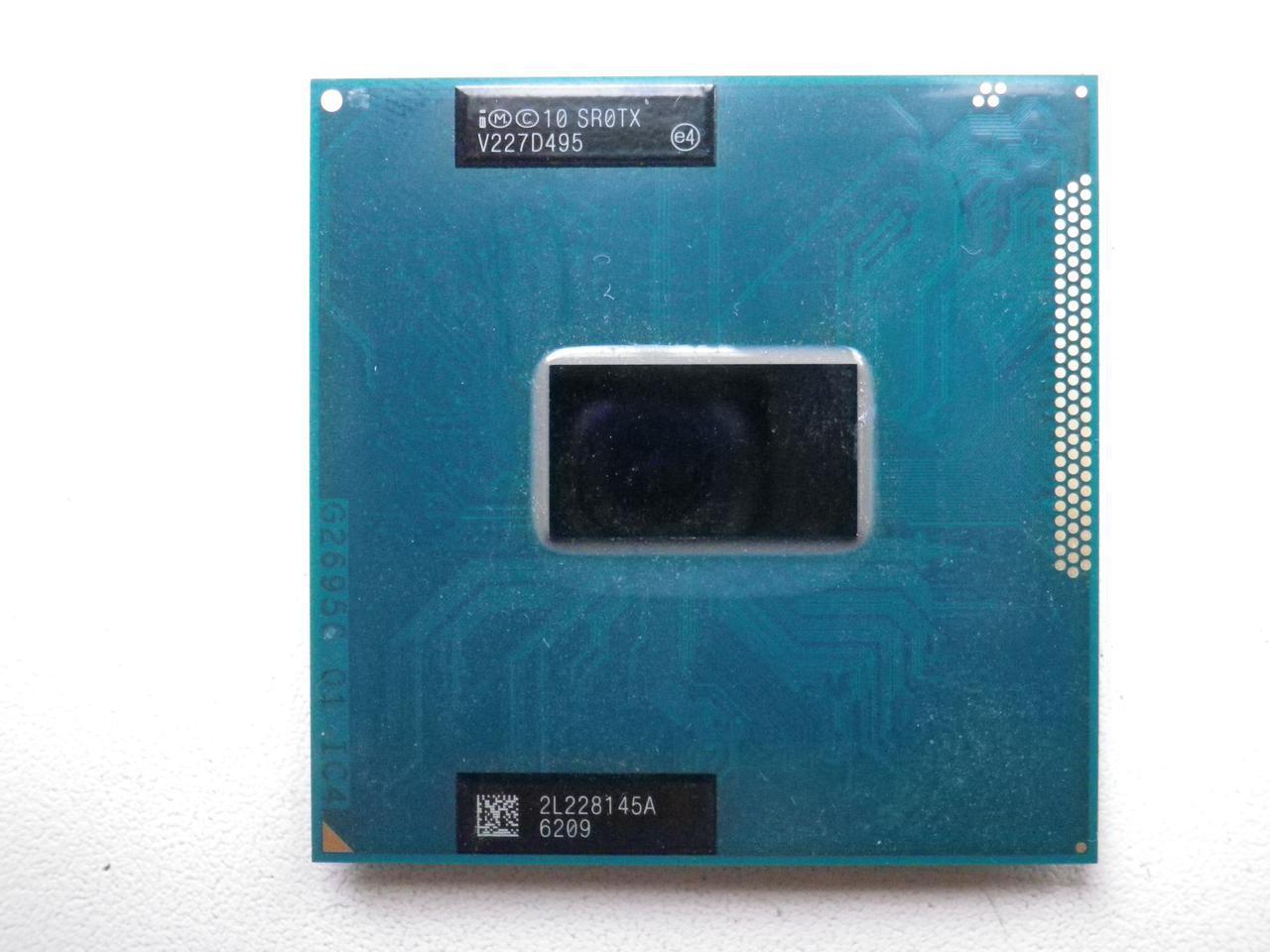 Процессор Intel Core i3-3120M(SR0TX G2/rPGA988B) 3 МБ кэш-памяти, тактовая частота 2,50 ГГц