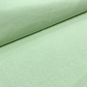 Хлопковая ткань бязь однотонная салатовая (шир. 2,2м)