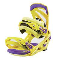 Крепления сноубордические Flux DS30 Yellow