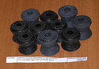 Втулки реактивных штанг ВАЗ 2121 полиуретан, (пр-во БРТ, Россия)