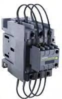 Контакторы для конденсаторных батарей, серия Ex9CC 50 kVar