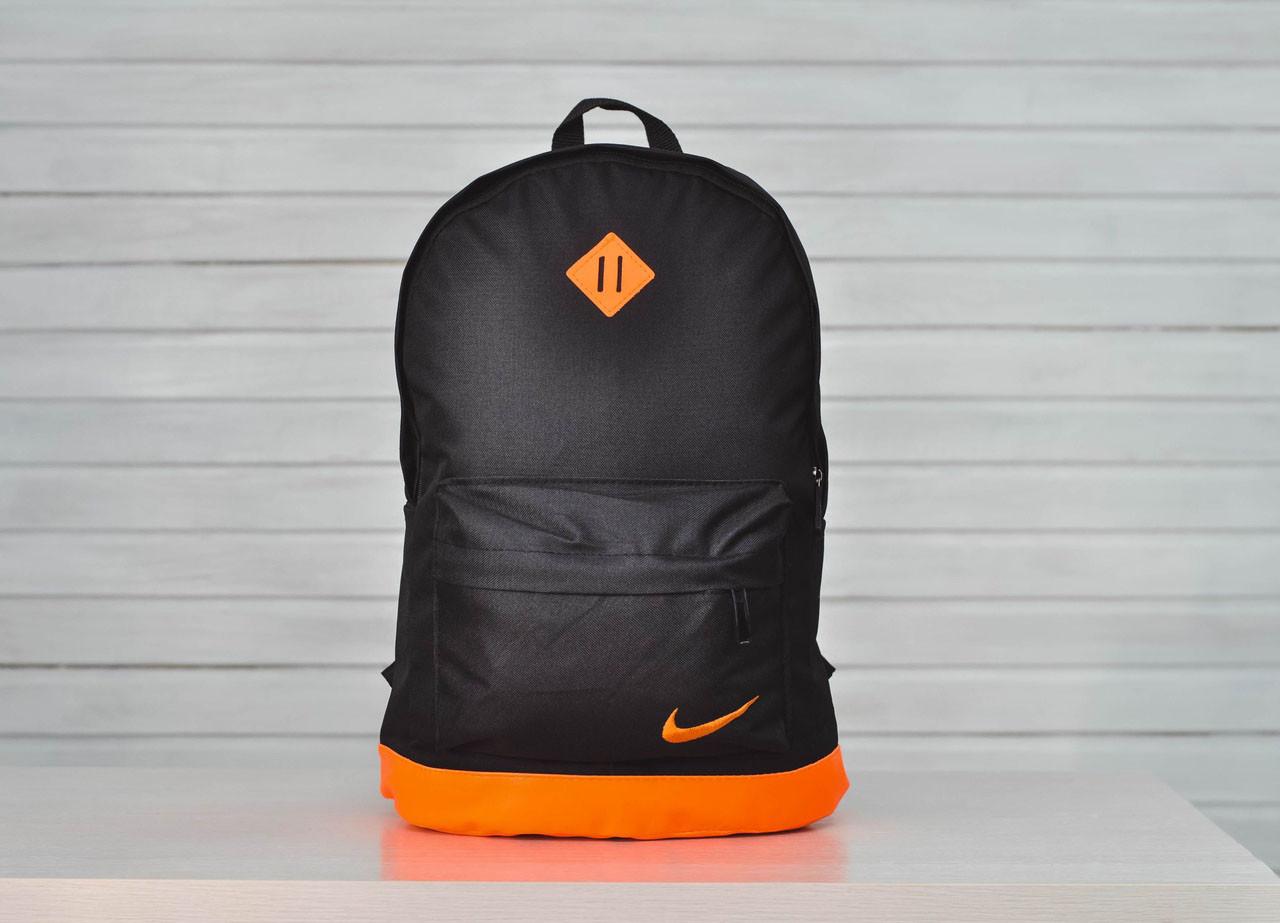 Рюкзак Nike  повседневный  городской (черный), ТОП-реплика