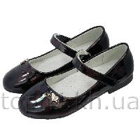 Туфли для девочек Clibee бордо 32-37, 37