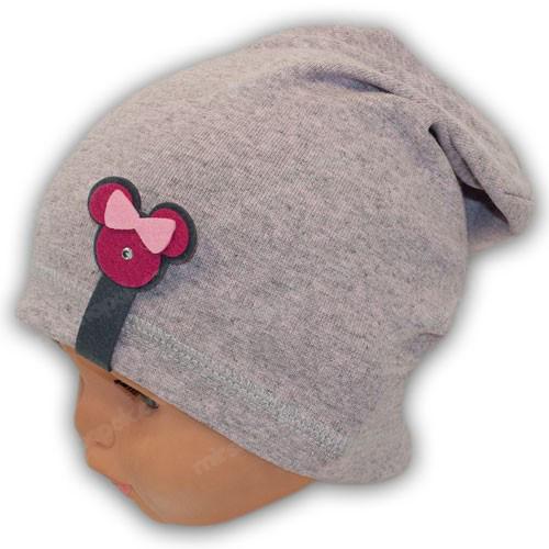Трикотажная шапка для девочек