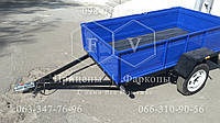 Прицеп легковой одноосный 1200*2000*350 в Киеве прицепы ЧП Федоров фаркопы