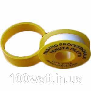 Фум лента (малая D50mm) 12 х0,75х10 мм GAV 79