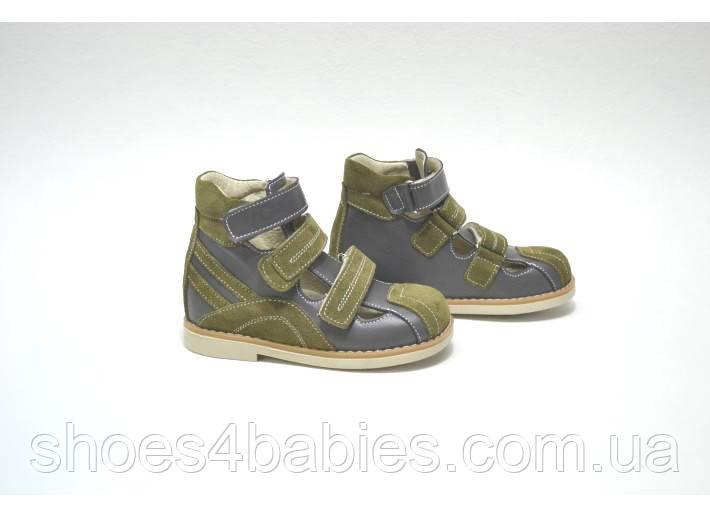 Детские ортопедические туфли Ecoby р. 20-32 модель 115B