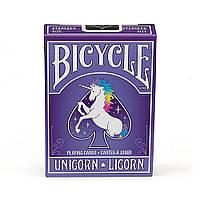 Покерные карты Bicycle Unicorn, фото 1