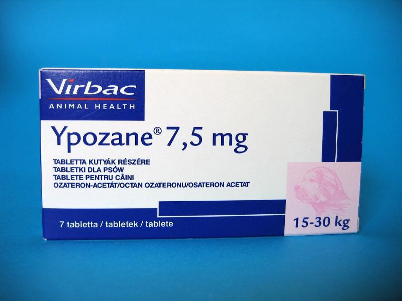 Ипозан (Ypozane L) для собак вагою 15 - 30 кг., 7 табл 7,5 мг.