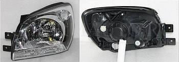 Фара левая передняя Kia SPORTAGE 2004-2008
