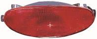 Фонарь противотуманка задняя Peugeot 206