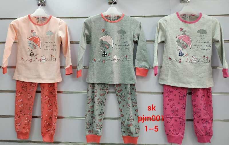 Детские пижамы для девочек Мики 1-3 лет
