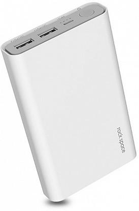 Внешний аккумулятор Power bank Rock Space P19 20800 mAh White