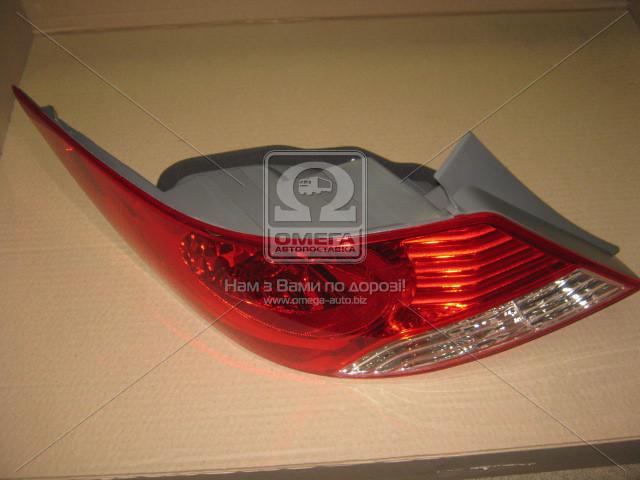 Фонарь левая задняя Hyundai ACCENT 2011-