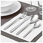 Набор столовых приборов IKEA MOPSIG 16 шт 003.430.03, фото 2