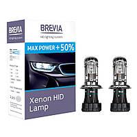 Ксеноновая лампа BREVIA Max Power +50% H4 5500K 85V 35W (2шт.) (Корея) , фото 1