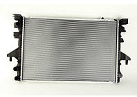 Радиатор охлаждения Volkswagen Transporter T5 2003- (1.9TDI) круглые соты