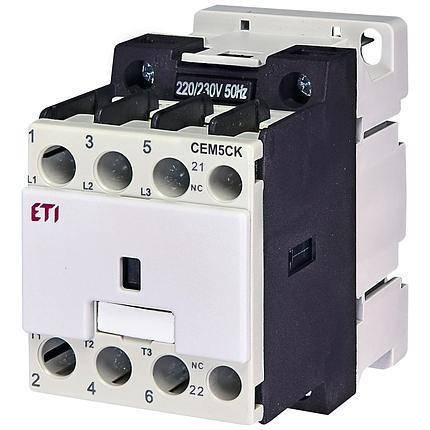 Контактор CEM 7,5CK.00 (7,5 кВАр, 400-440V) 7,5kvar, 230V , фото 2