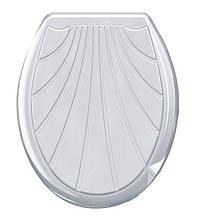 Сиденье универсальное для унитаза Ракушка Консенсус белое