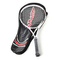 Теннисная ракетка MS 0058 (20шт) 1шт, алюм, в чехле, 70-29-3см