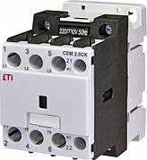 Контактор CEM 2,5CK.01 (2,5 кВАр, 400-440V). 2,5kvar