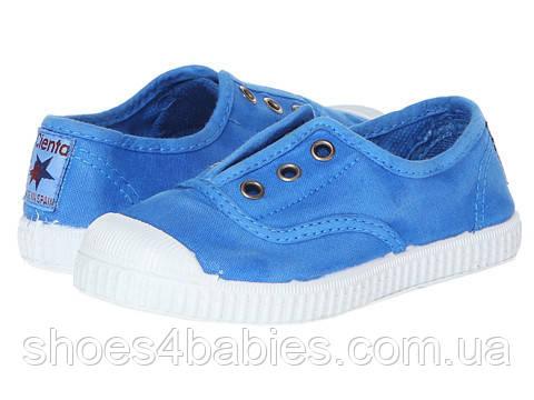 5d4f408c Детские кеды Cienta р.27, 33 голубые с резинкой - Магазин детской обуви
