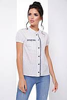 cc2d795bcd0 Женские блузки с коротким рукавом в Украине. Сравнить цены
