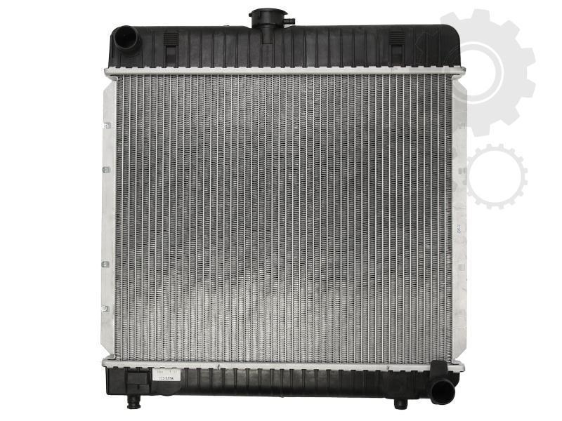 Радиатор охлаждения Mercedes 123 (механика) 415*495мм по сотах KEMP