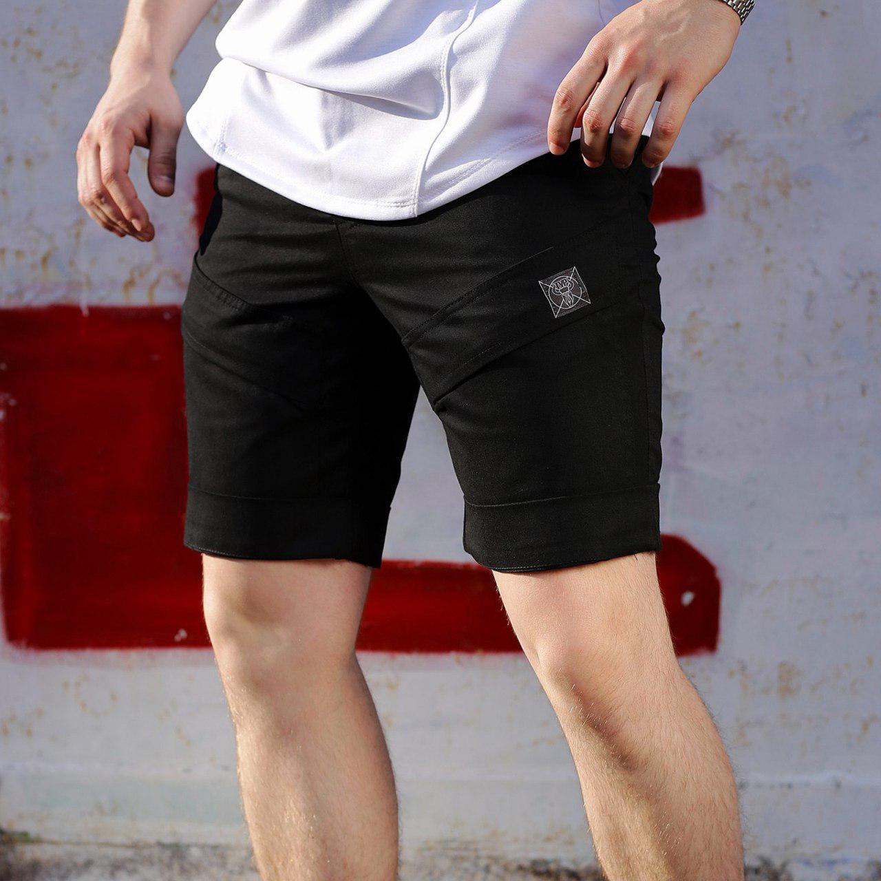 Шорты мужские черные бренд ТУР модель Чироки (Cherokee) TURWEAR