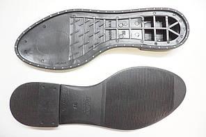 Подошва для обуви Мадонна-9 с гвоздиками черная р. 38-39, фото 2