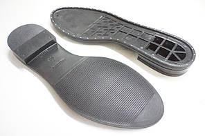 Подошва для обуви Мадонна-9 с гвоздиками черная р. 38-39, фото 3