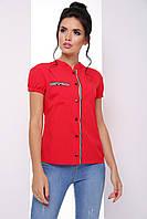 Универсальная женская блузка с коротким рукавом 7064/5, фото 1