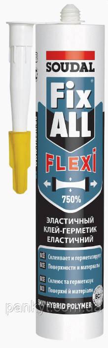 Клей-Герметик. Fix All белый Soudal (290ml)