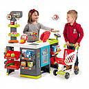 Супермаркет с тележкой интерактивный Maxi Market Smoby 350215, фото 2