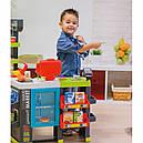 Супермаркет с тележкой интерактивный Maxi Market Smoby 350215, фото 4