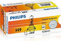 Галогенная лампа Philips H9 Vision 12V 12361C1 (1шт.), фото 1