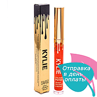 Жидкая матовая помада KYLIE metal matte lipstick