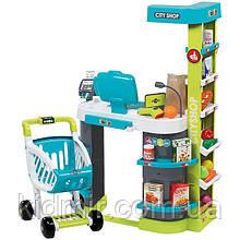 Супермаркет з візком інтерактивний City Shop Smoby 350207