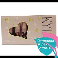 Набор жидких  помад Kylie Jenner Matte Liquid Lipstick Палитра В