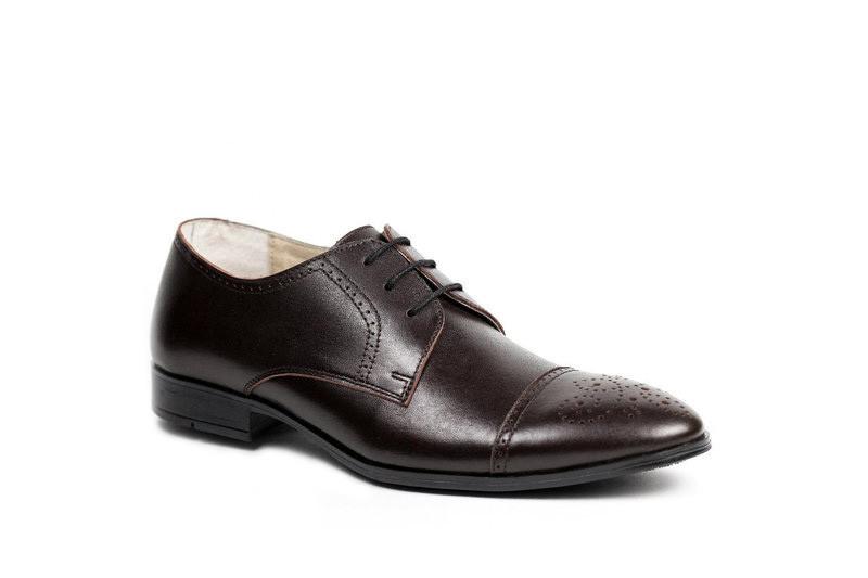 Купляй шкіряні коричневі туфлі онлайн і ми їх доставимо за 1-3 дня!