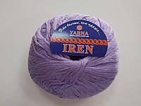 Пряжа Ирен Италия цвет 945 сирень