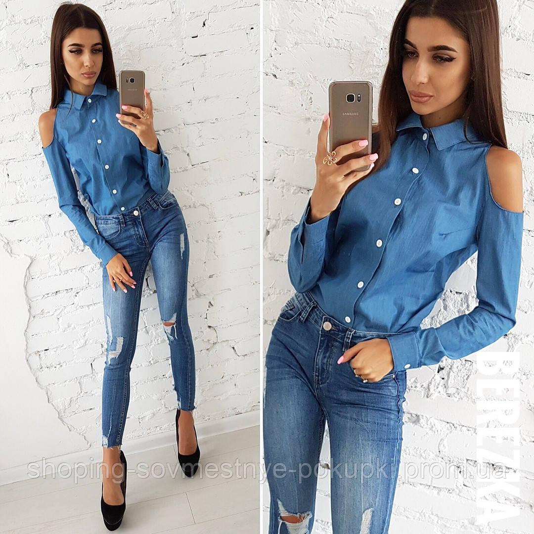 58f9e3524ef Модные джинсовые рубашки (2 вида) купить в Украине