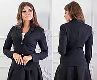 Жакет (пиджак) арт.120 черный