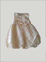 Платье для девочки  Ceremony by Wojcik 23561 кремовое  86-98