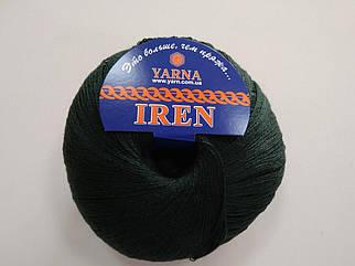Пряжа Ирен Италия цвет 11107 малахит