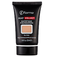 Матуюча тональна основа Flormar MAT VELVET V208 Honey Beige 35 мл (2742222)