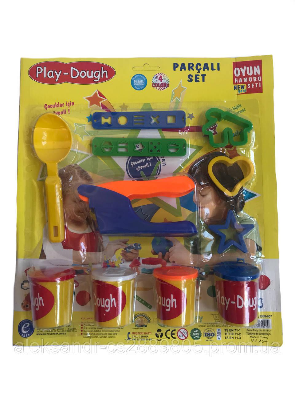 Масса для лепки Набор с игрушками